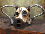 SkyPirate Steampunk Skull Mask