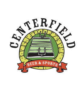 Brand redesign logo for Centerfield Sports Bar in Washington DC