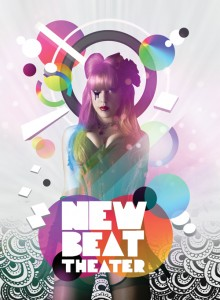 New Beat Theater - Colorful Flyer Design